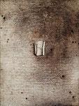 ohne Titel, 2008, Mischtechnik auf Leinwand, 40 x 30 cm