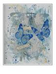 'Butterflies in love' Size: 49x69x4