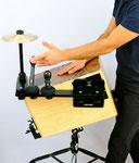 cajon sound bridge shaker jingle splash zusatzinstrument add on spielen im stehen ständer weltneuheit tools