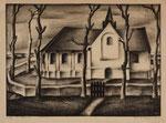 Litho van Aart van Dobbenburg, 1927.