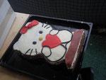 Schwarzwäldertorte Hello Kitty