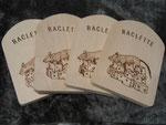 Raclette Untersetzter