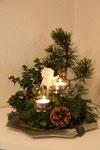 Weihnachtsgesteck 2011