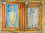Josef Hofer, ohne Titel, XI 2006, Bleistift und Farbstifte auf Papier, 44 x 60 cm, verfügbar / disponible / available: Elisabeth Telsnig, Elsbethen