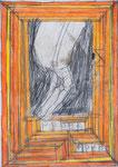 Josef Hofer, ohne Titel, II 2010, Bleistift und Farbstifte auf Papier, 29,6 x 21 cm, verfügbar / disponible / available: Elisabeth Telsnig, Elsbethen