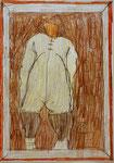 Josef Hofer, ohne Titel, V 2015, Bleistift und Farbstifte auf Papier, 29,6 x 21 cm, verfügbar / disponible / available: Elisabeth Telsnig, Elsbethen