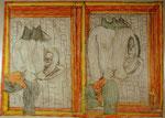 Josef Hofer, ohne Titel, II 2015, Bleistift und Farbstifte auf Papier, 50 x 70 cm, verfügbar / disponible / available: Elisabeth Telsnig, Elsbethen