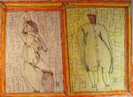 Josef Hofer, ohne Titel, V 2015, Bleistift und Farbstifte auf Papier, 44 x 60 cm, verfügbar / disponible / available: Elisabeth Telsnig, Elsbethen