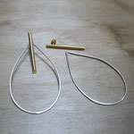 Boucles d'oreilles ADAPTABLES - combinaison Tiges + Gouttes