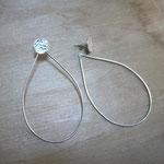 Boucles d'oreilles ADAPTABLES - combinaison Pastilles + Gouttes