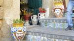 Caltagirone: toutes les marches sont décorées