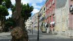 Trapani : Rue de la ville près du port