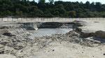 Lac de boue bouillonnante