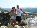 Du haut du château d'Avigliana