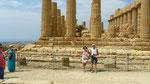 Le temple de Junon (Hera), encore des vieilles pierres !