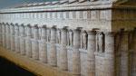 Musée d'Agrigento : maquette de temple