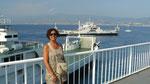Traversée du détroit sur le ferry (25mn)