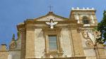 Piazza Armerina: façade de la cathédrale