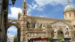 La cathédrale, un pur chef-d'oeuvre de l'art arabo-normand