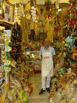Naples : marchand de pâtes