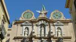 Trapani : Belle façade de palazzo