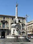 La fontaine de l'éléphant, symbole de la ville