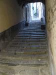 une des petites ruelles de la ville médiévale