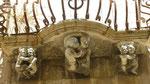 Ragusa : Un des balcons du palazzo Cosentini