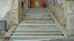 Sciacca : Encore un escalier recouvert de céramiques