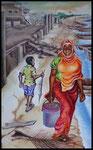 Hafen Bagamoyo, Tansania  80x50