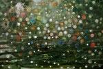 Don't go near the water at night 80x120  aquarel op doek (verkocht)