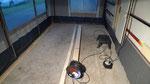 ... habe ich einen mobilen Landhausfußboden...