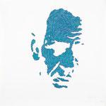 Pollock I, 70X70 cm