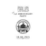 「Posillipo cucina meridionale」1st ANNIVERSARY title design