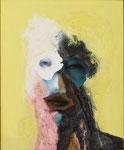 Petite tête grotesque III - huile et acryl sur toile - 50 x 41 cm - n°26/2014
