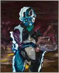 Europe fond violet - huile et acryl sur toile - 150 x 120 cm - n°25/2008
