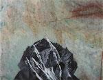 Parnasse - huile sur marbre Portofino - 35 x 45 cm - n°5/2014