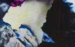 Paysage (avec yeux) n°4 - huile sous verre - 42 X 66 cm - janvier 2015 n°5/2015