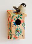 Tag der offenen Tür Acryl und Tonfigur auf Holz 2015 Sonderanfertigung