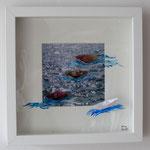 Schiffsansichten, Papier, Foto, Wasserfarben, Acryl 2015 Auftragsarbeit