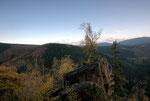 Blick von der Rabenklippe im Harz