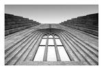 Fensterdetail der Hallgrimskirkja