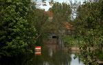 Leine mit Wassermühle