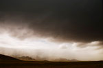 Regenfront im Hochland von Snæfellsnes