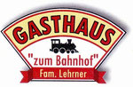 "Gasthaus ""Zum Bahnhof""-Fam. Lehrner ---  2491 Neufeld, Bahnhofstr. 1  ---  02624/52423"