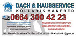 Dach-u.Hausservice Manfred Kollarik, Neufeld, --- 0664/300 42 23