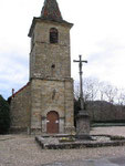 Eglise et sa croix
