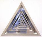 """""""acciaio"""", 1967 Metallrelief 105 x 120 x 7 cm"""