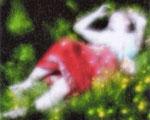 """""""Nyima 222"""", 2004 Inkjet auf Leinwand 110 x 148 cm, Ed.6"""