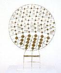 """""""Leto"""", 1980 Messing 39 x 29 x 9 cm"""